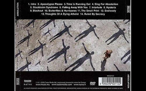 Обложка CD back