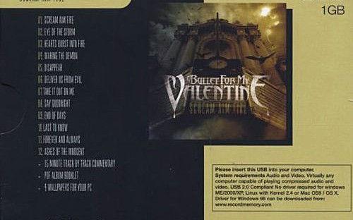 Scream Aim Fire обложка CD back